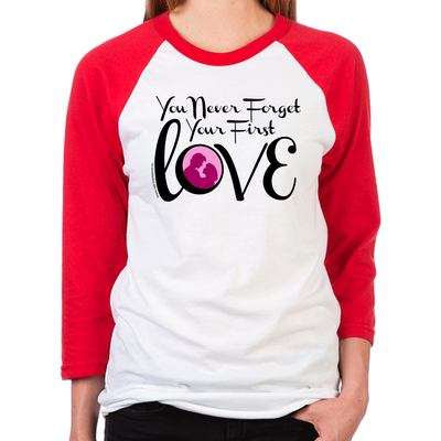 Dirty Dancing You Never Forget Women's Baseball T-Shirt