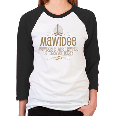 Mawidge Wedding Unisex Baseball T-Shirt