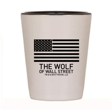 Wolf of Wall Street MORE Shot Glass