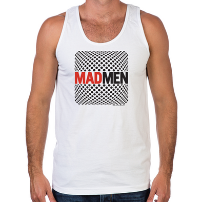 Mad Men Pop Art Men's Tank