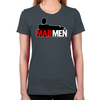 Mad Men Truth Lies Women's Fitted T-Shirt