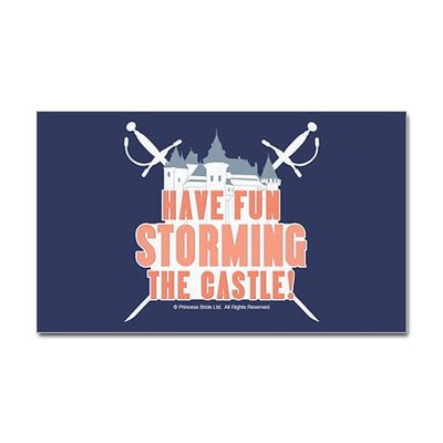 Storming the Castle Sticker
