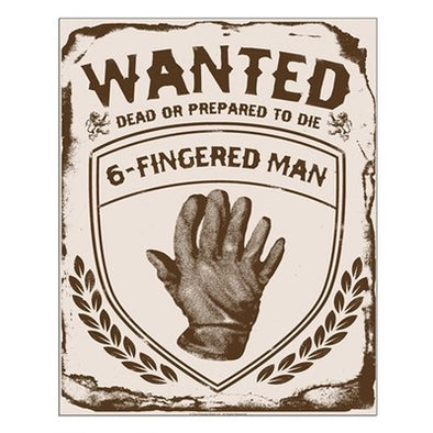 Six Fingered Man Small Poster