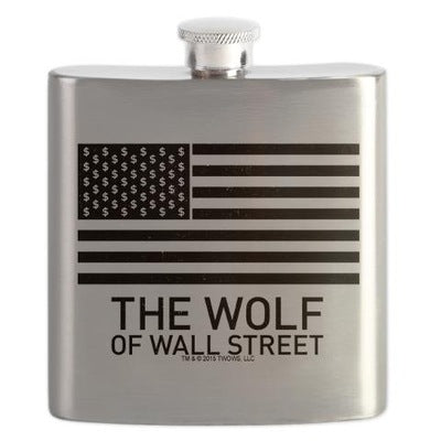 Wolf of Wall Street MORE Flask