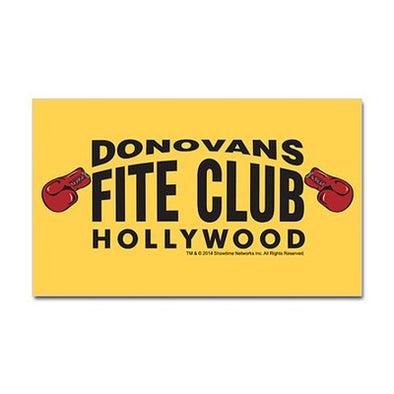 Donovan's Fite Club Sticker