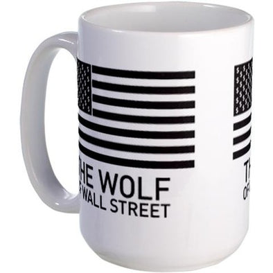 Wolf of Wall Street MORE Large Mug