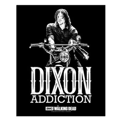 Daryl Dixon Addiction Small Poster