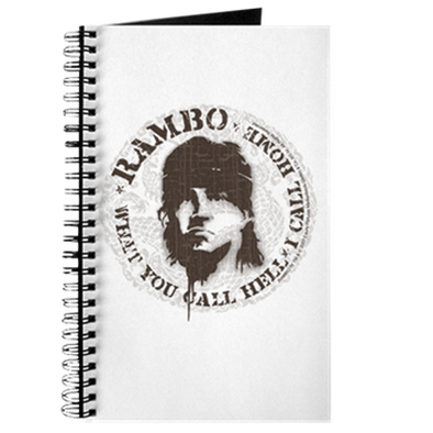 Rambo Call This Hell Journal