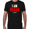 TWD I Am Negan Fitted T-Shirt