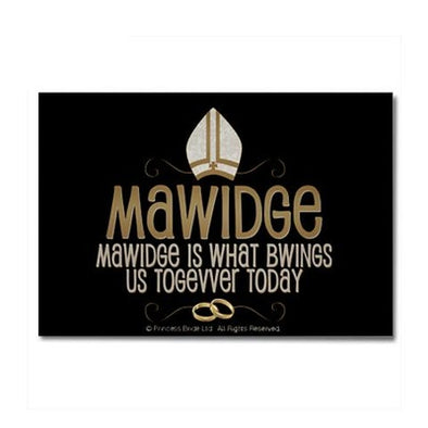 Mawidge Wedding Magnet
