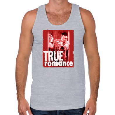 True Romance DVD Art Men's Tank