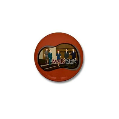 Sterling Cooper Mad Men Mini Button