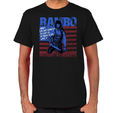 Rambo No Fear T-Shirt