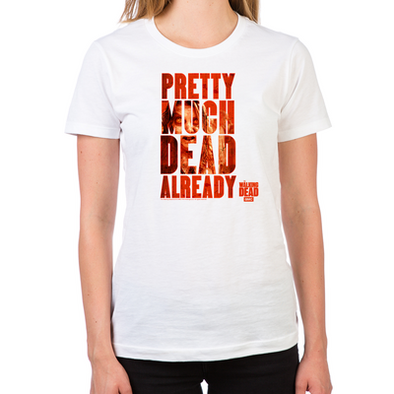 Dead Already Women's Fitted T-Shirt