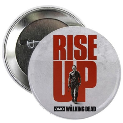 Rise Up Walking Dead Button