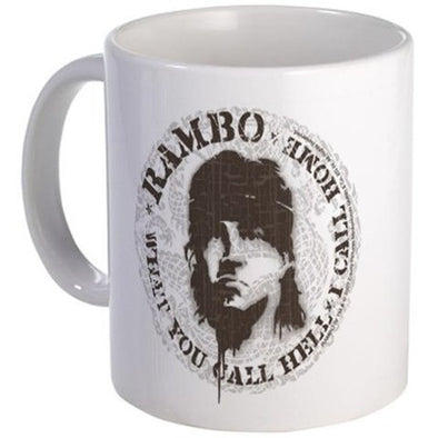 Rambo Call This Hell Mug