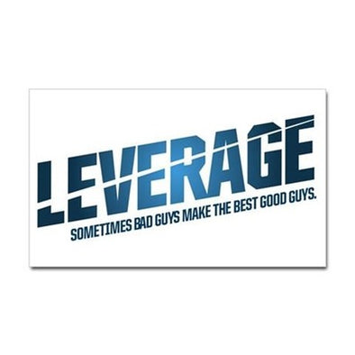 Leverage Logo Sticker