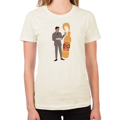 Mad Men Salvatore Women's Fitted T-Shirt