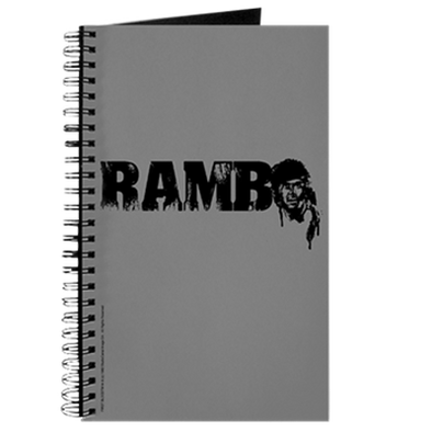 R is for Rambo Journal