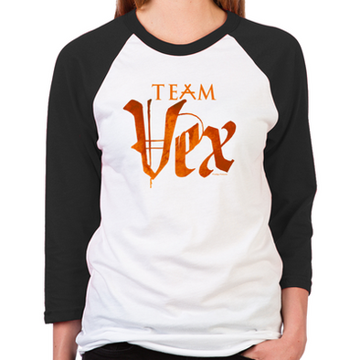Lost Girl Team Vex Unisex Baseball T-Shirt