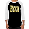 The Walking Dead Logo Men's Baseball T-shirt