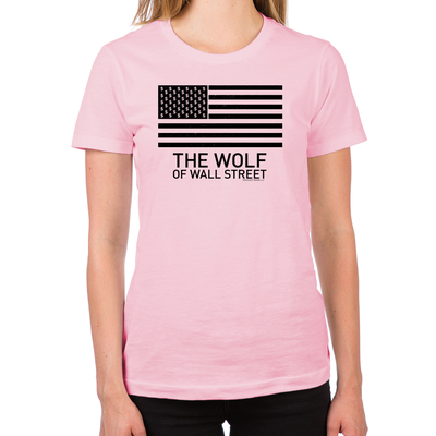 Wolf of Wall Street MORE Women's Fitted T-Shirt