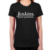 Jenkins Quick Question Women's Fitted T-Shirt