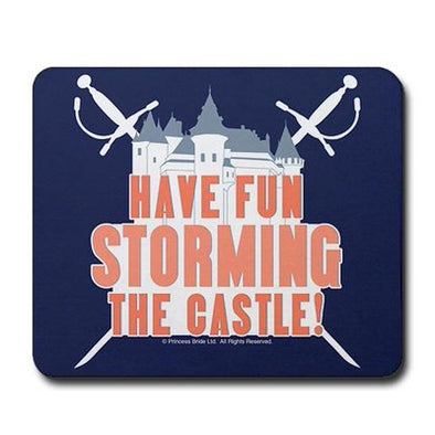Storming the Castle Mousepad