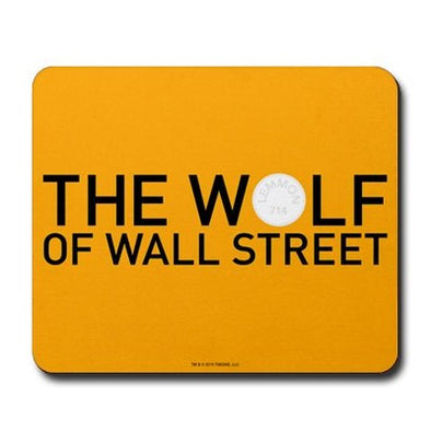 The Wolf of Wall Street Mousepad