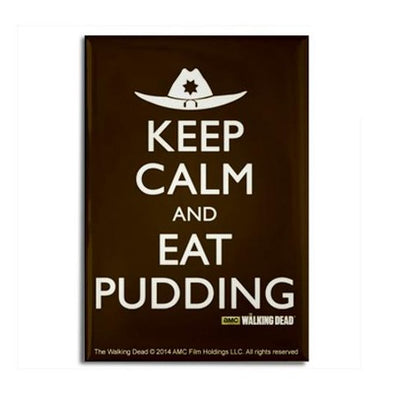 Keep Calm Eat Pudding Magnet