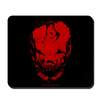 Bloodletting Mask Red Mousepad
