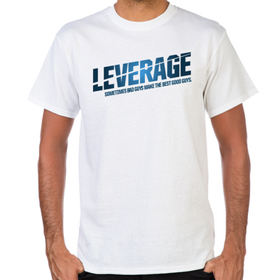 Leverage Logo Men's T-Shirt