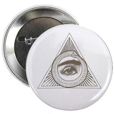 "Eye Ouroboros 2.25"" Button"