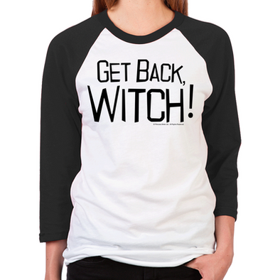Get Back Witch Unisex Baseball T-Shirt