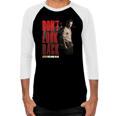 Rick Don't Look Back Men's Baseball T-Shirt