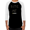 Bite Me Men's Baseball T-Shirt