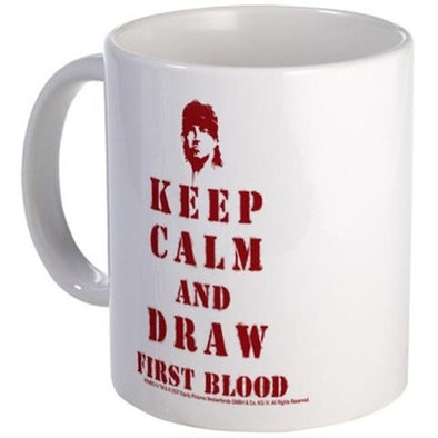 Keep Calm Rambo Mug