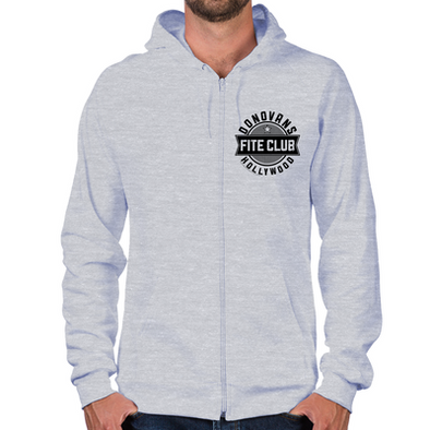Donovan's Hollywood Fite Club Zip Hoodie