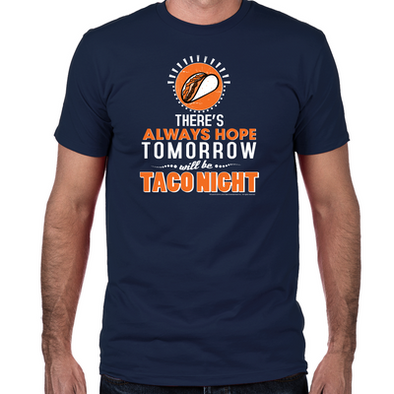 Taco Night Fitted T-Shirt