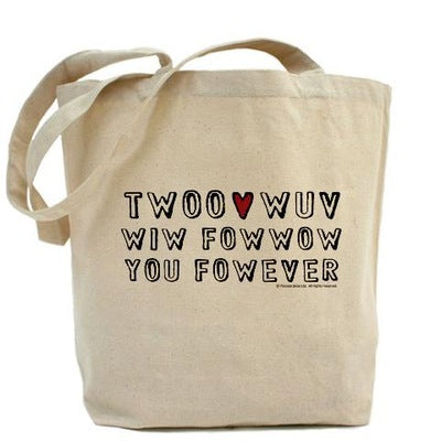 Twoo Wuv Fowever Tote Bag