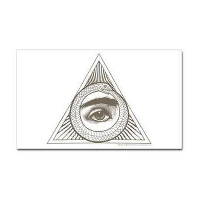 Eye Ouroboros Sticker