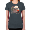 Joan Holloway Decolletage Women's Fitted T-Shirt