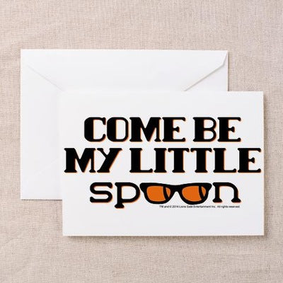 Come Be My Little Spoon Greeting Card