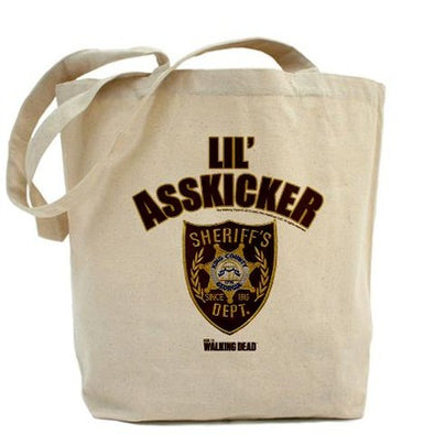 Walking Dead Lil Asskicker Tote Bag