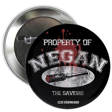 Property of Negan Button