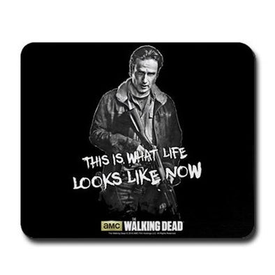 Rick Grimes Life Looks Like Now Mousepad