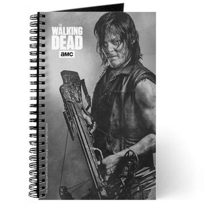 Daryl Dixon Silver Portrait Journal