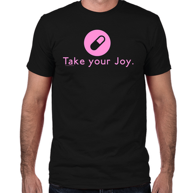 Take-Your-Joy-Fitted-T-Shirt