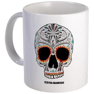 Day of The Dead Skull Mug