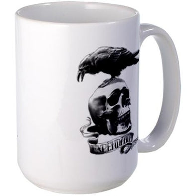 Skull Tattoo Large Mug